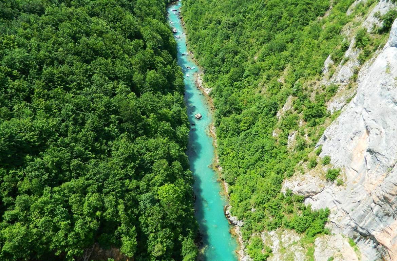 Atrações de Montenegro - Cânion do Rio Tara