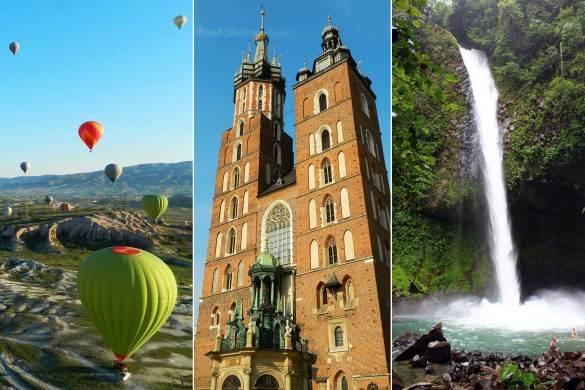 Viajar barato: Veja países onde se gasta até US$ 55 por dia - Turquia, Polônia e Costa Rica