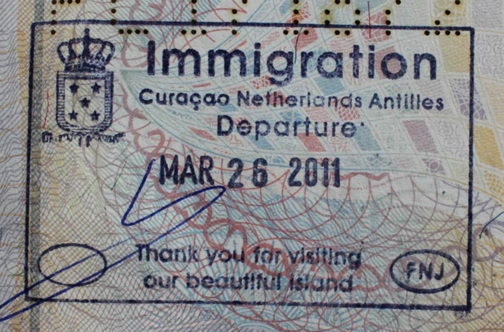 Precisa de visto para viajar a Curaçao?