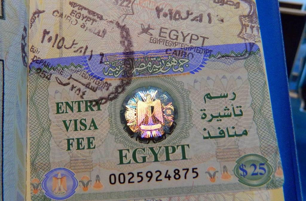 Precisa de visto para viajar ao Egito?