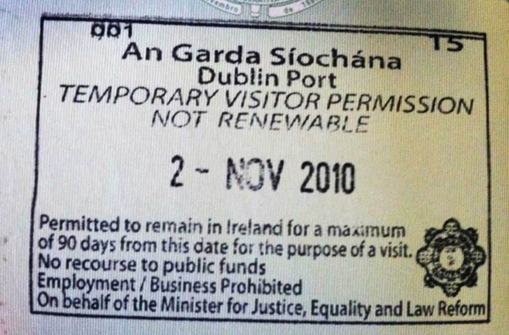 Precisa de visto para viajar à Irlanda?