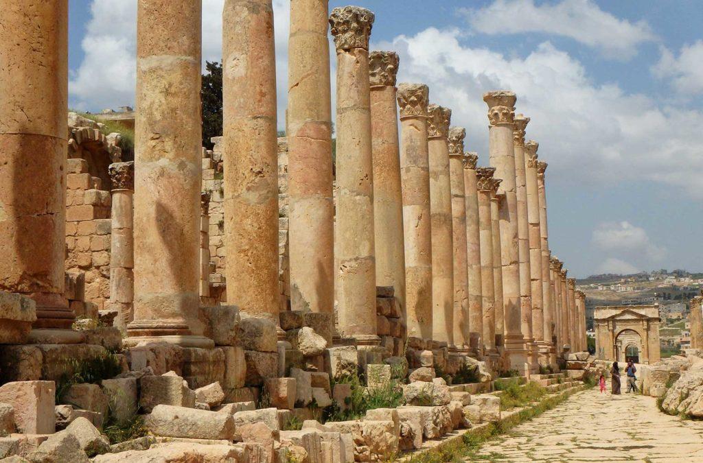 O que fazer na Jordânia - Ruínas de Jerash