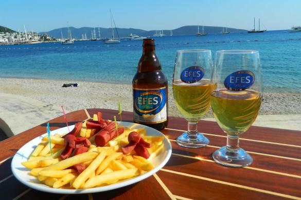 Quanto custa viajar para Turquia - Happy hour em Bodrum