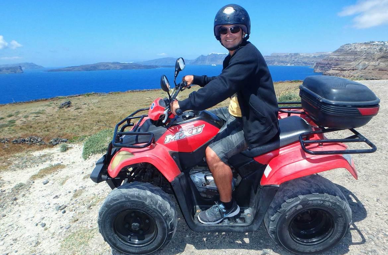 Santorini - viagem de carro