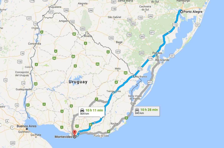 Dicas de Montevidéu - Como chegar