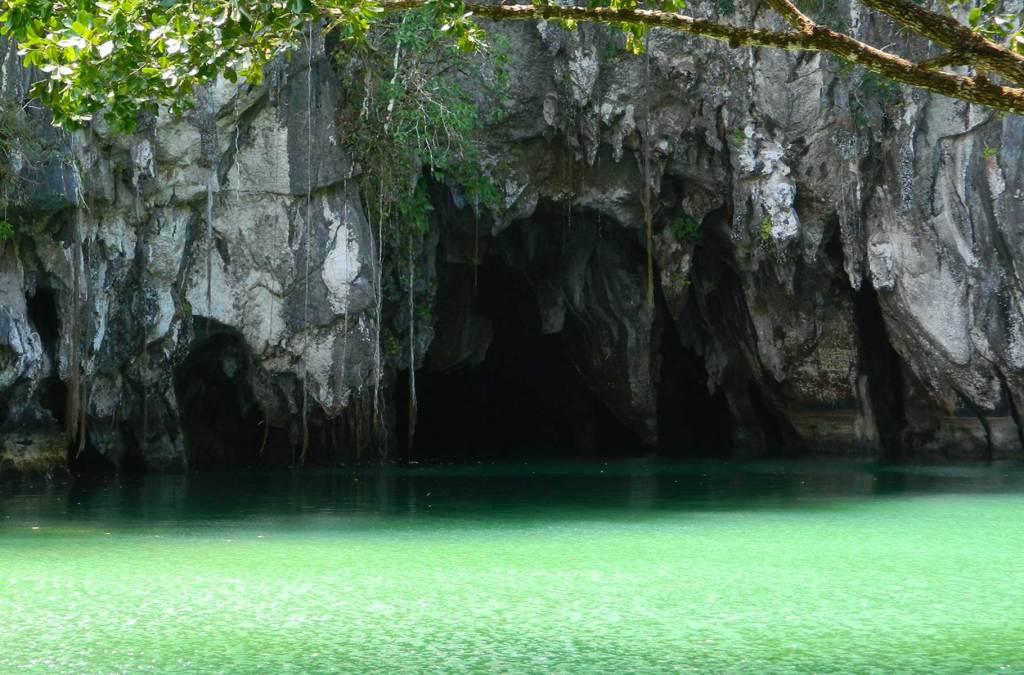 Dicas das Filipinas - Rio subterrâneo