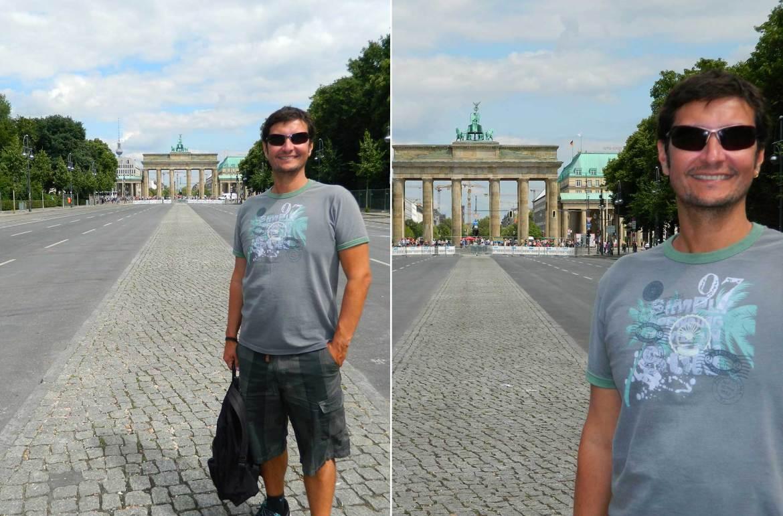 Como tirar boas fotos de viagem - Da cintura para cima