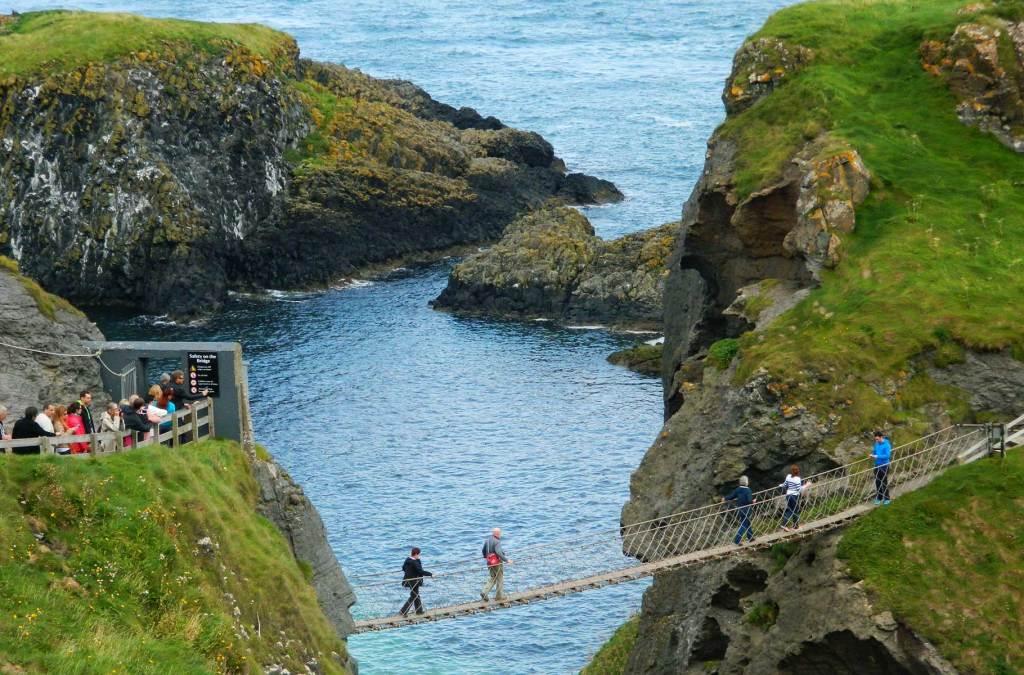 Roteiro na Irlanda - Ponte Carrick-a-Rede