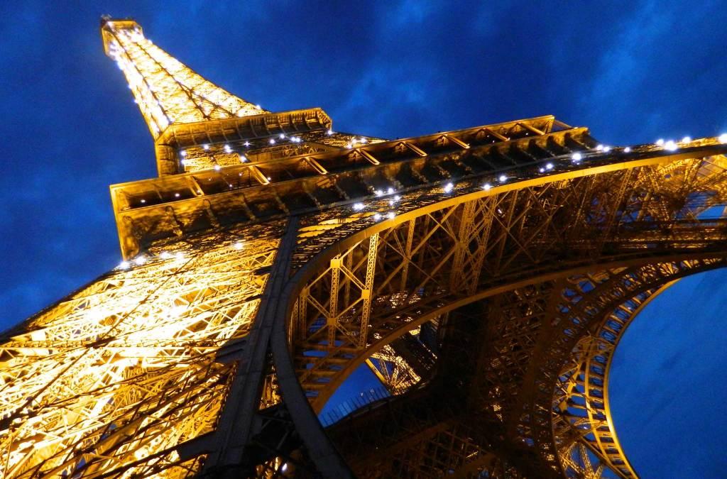 Como visitar a Torre Eiffel - Vista do chão