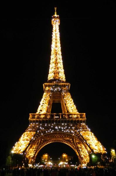 Como visitar a Torre Eiffel - Vista dos Jardins do Trocadéro