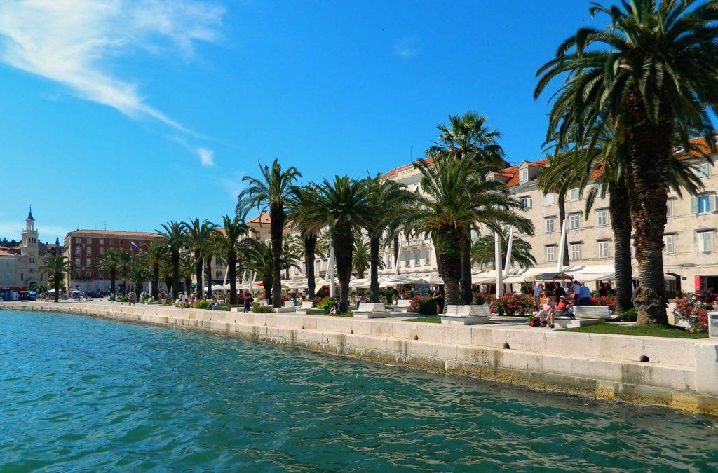 O que fazer na Croácia - Calçadão de Split
