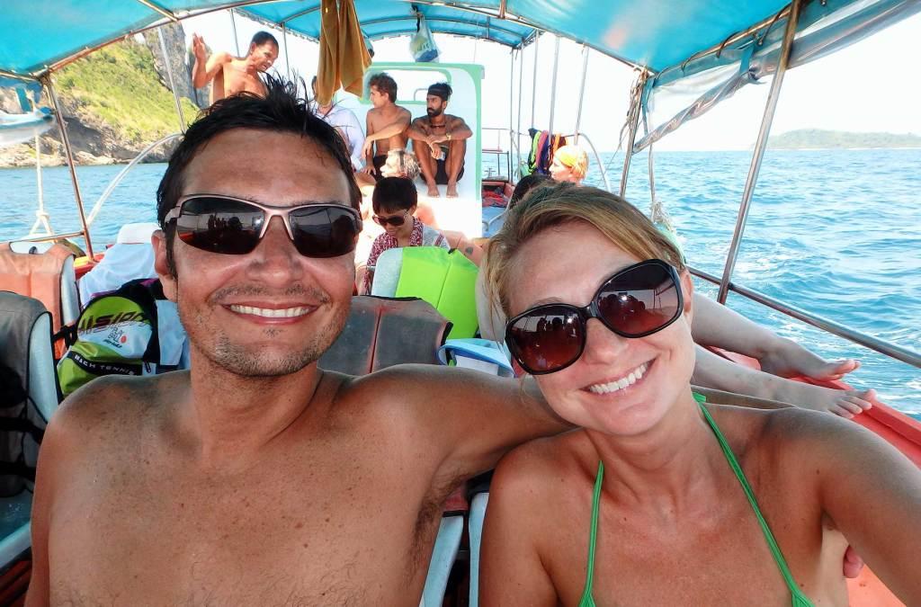 Como tirar selfie em viagens - Mostre onde você está