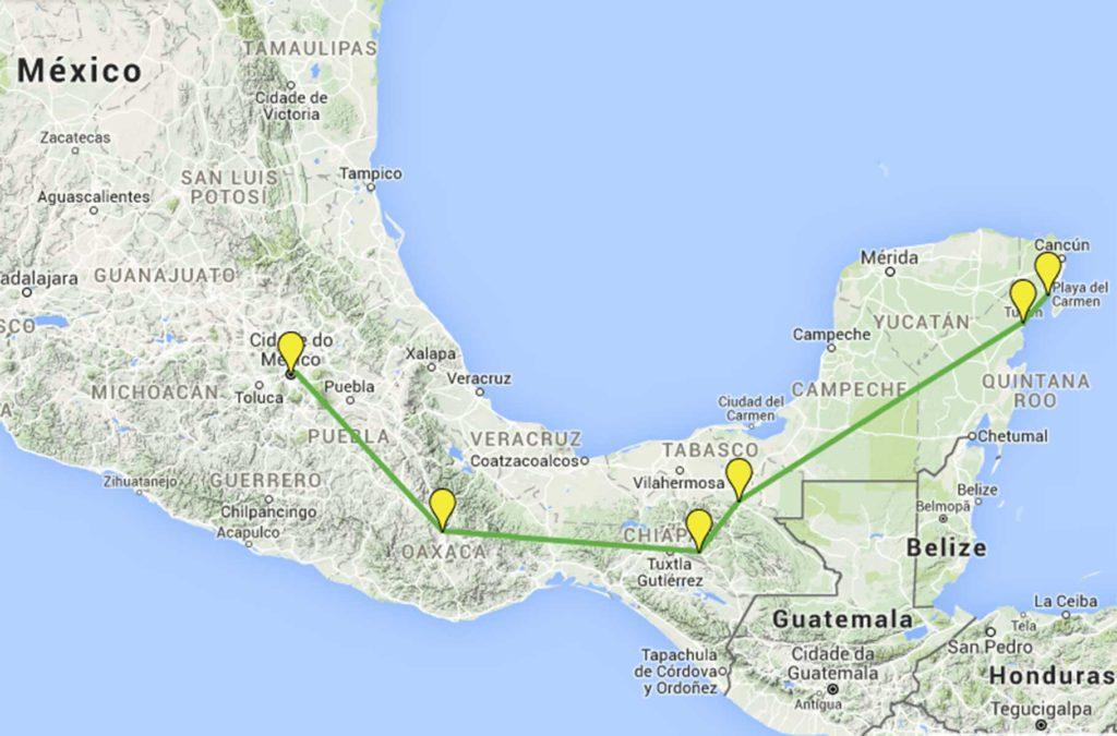 Dicas do México - Não vá para ficar pouco tempo
