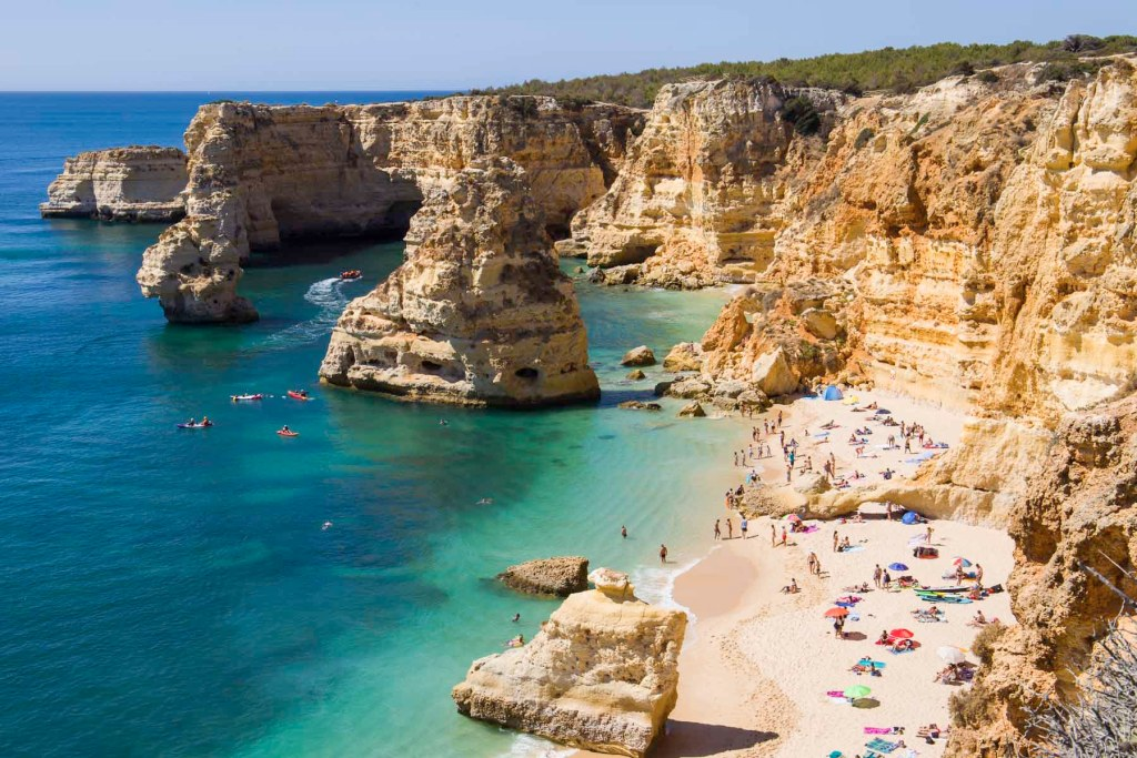 Motivos para amar Portugal - Praias belíssimas