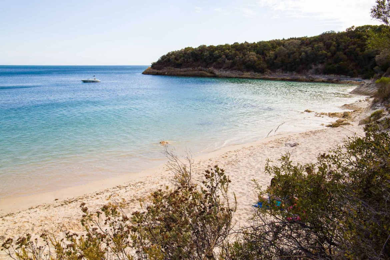 Praia de Galapinhos, na região de Setúbal (Portugal)