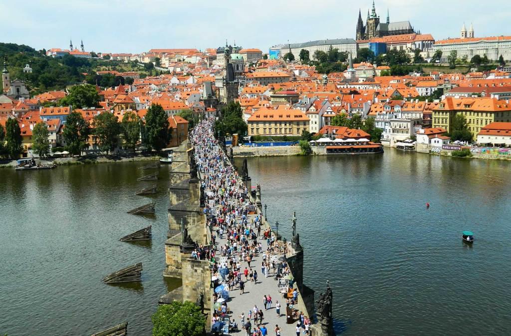 Roteiro em Praga - Ponte Carlos