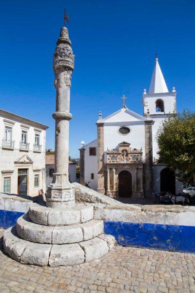 Cidade medieval de Óbidos, em Portugal