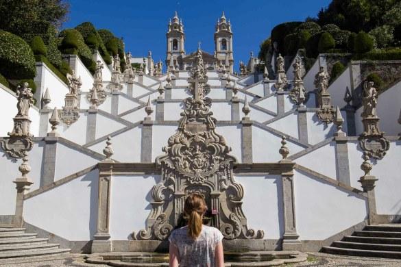 Santuário do Bom Jesus do Monte, em Braga (Portugal)