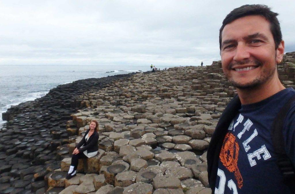 Lugares mais incríveis do mundo - Giant's Causeway (Reino Unido)