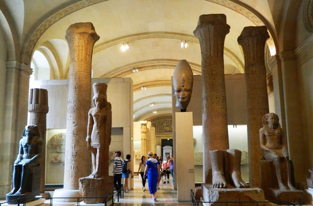 O que ver no Louvre - Coleção de arte egípcia
