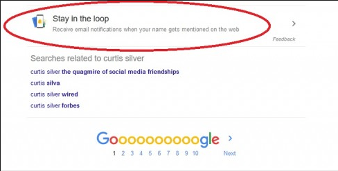 google stay in the loop activation