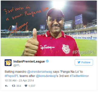 sehwag in twitter mirror
