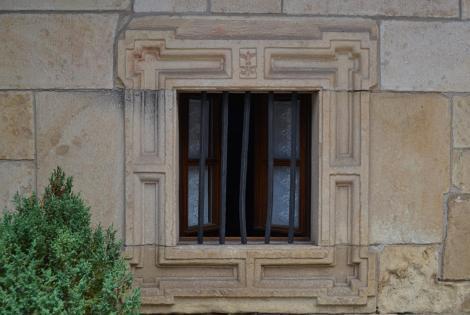 Casona Bº de la Fuente. Detalle ventana
