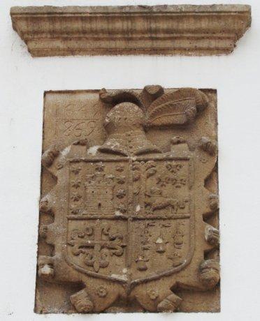 Escudo de los Rubín de Celis
