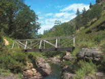 Puente sobre el río Argoza