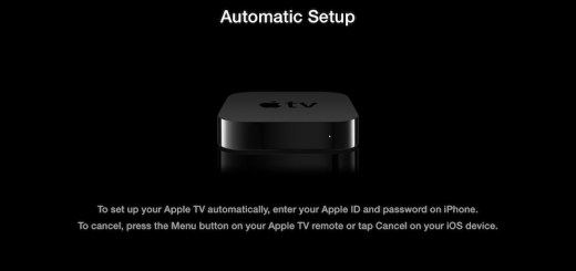 Apple TV iOs Setup BT
