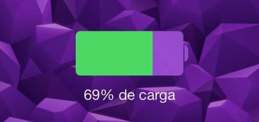 Bateria iOS 7