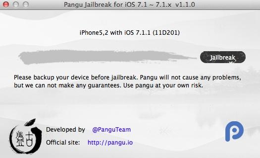 Tutorial para hacer jailbreak a iOS 7.1.2 usando Pangu en Mac Pangu-Mac