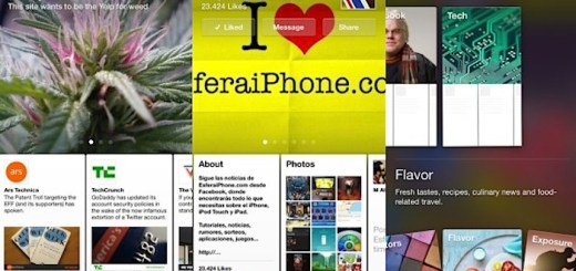 Paper de Facebook para iPhone