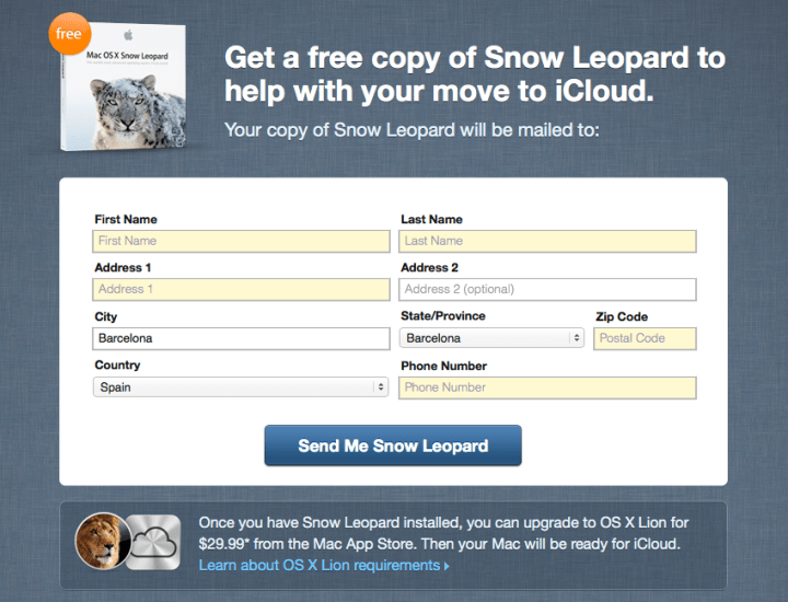 Snow Leopart Mobile Me 2