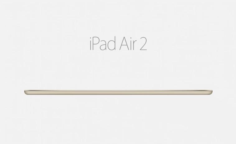 iPad Air 2 dorado