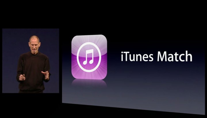 iTunes Match Logo Steve Jobs