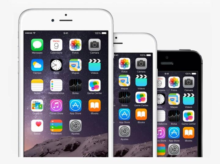 iphones 6 comparativa