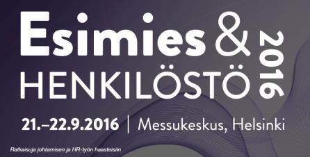 Esimiesakatemia mukana Esimies&Henkilöstö 2016 -messuilla