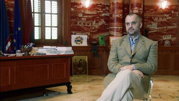 Edi Rama (Mayor of Tirana)