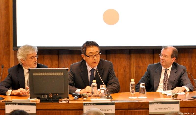 在スペイン日本企業協会 Shacho Kaiによる「在スペインの日本企業:企業経営貢献への研究と評価」白書出版のプレゼンテーションにて