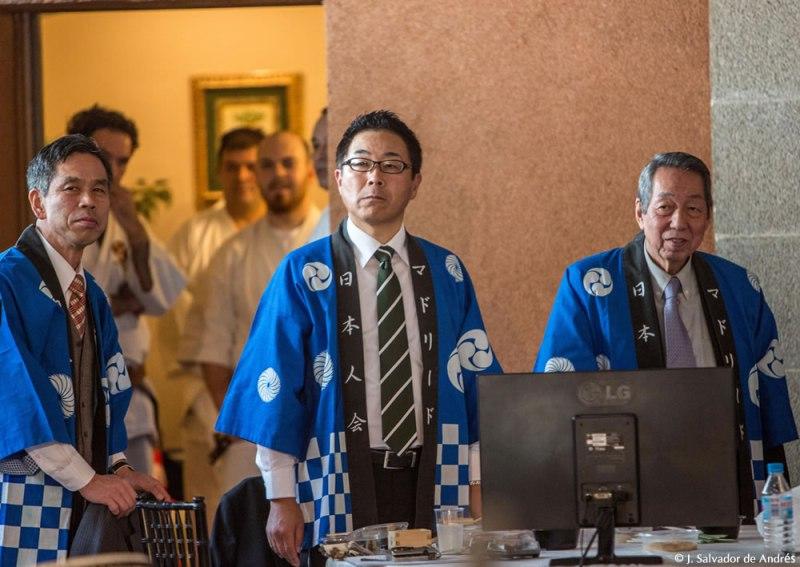 マドリード日本人会主催、第24回マドリードもちつき大会にて