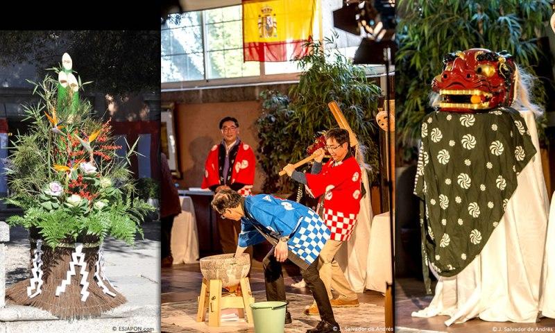 Se celebra la 24ª edición de la Fiesta del Mochitsuki en Madrid
