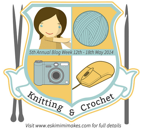 2014 Annual Knitting & Crochet Blog Week on Eskimimi Makes