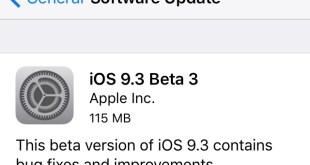 Apple libera nuevos betas para iOS 9.3, watchOS 2.2, OS X 10.11.4 y tvOS 9.2