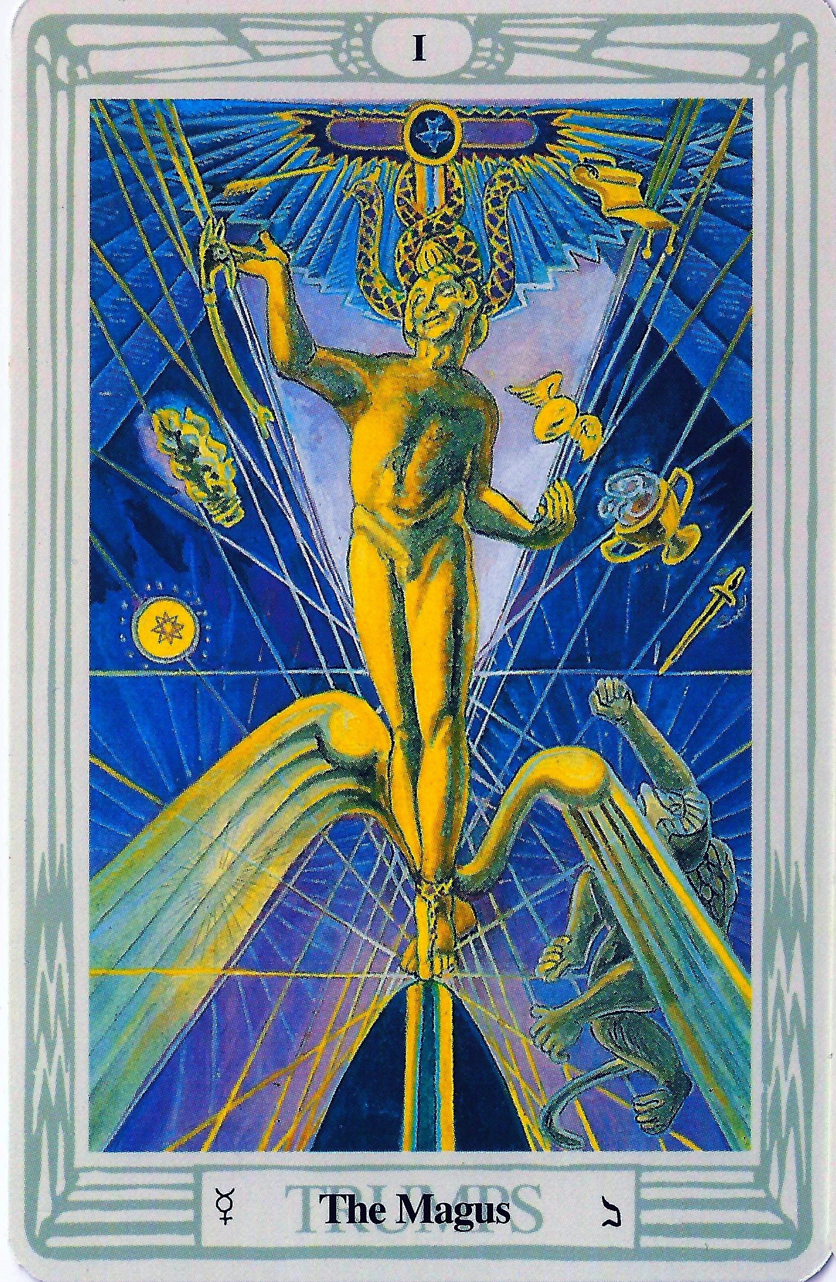 Thoth Magus Tarot Card Tutorial Esoteric Meanings