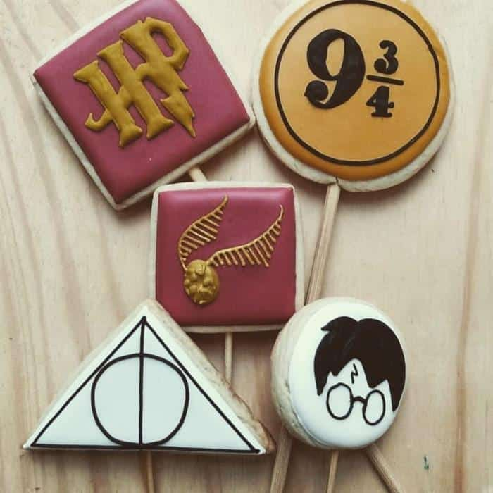 doces festa harry potter