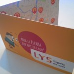 "La carte de visite ""LYS, España en Lyon"", merci Visblú Communication"