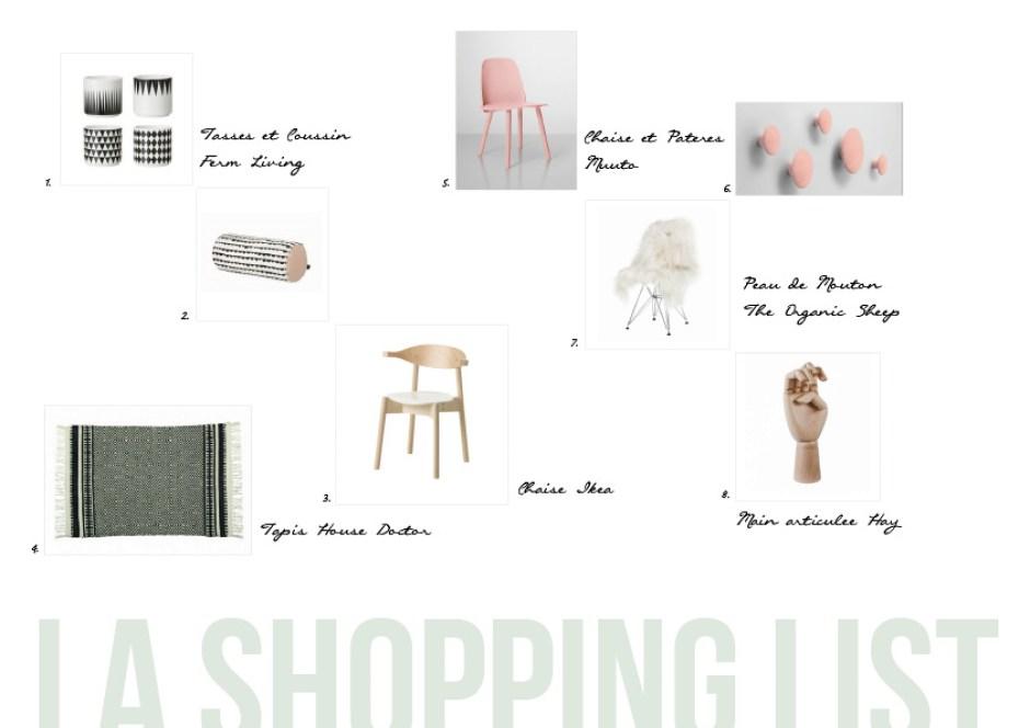 Shopping List Déco Esperluette