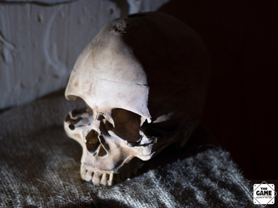 Les catacombes, The Game, escape game à Paris