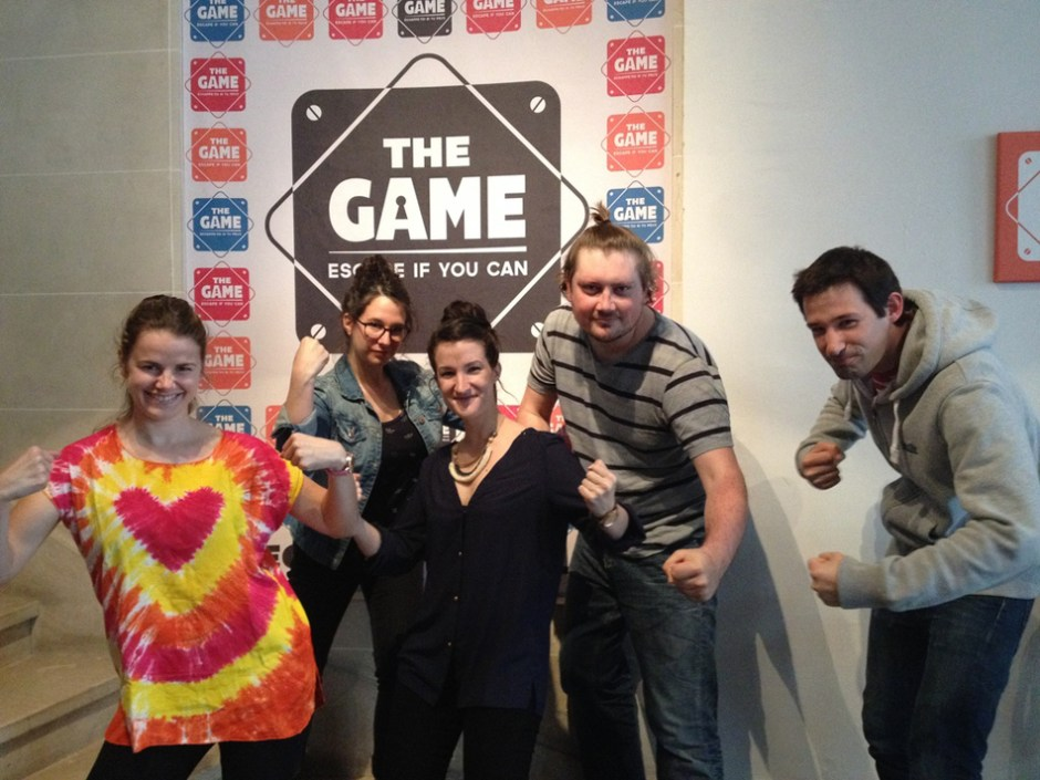 The Game, Braquage à la française, escape game à Paris